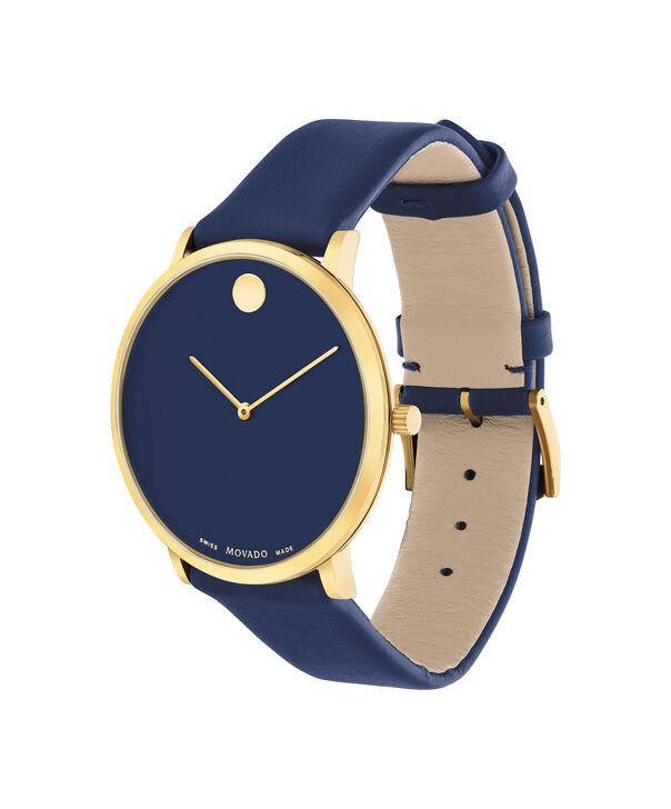 MOVADO Modern 470607259 – Movado.com EXCLUSIVE 40mm strap watch - Side view