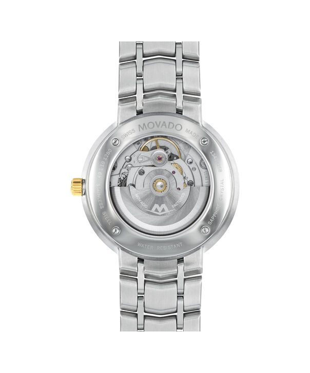 MOVADO 1881 Automatic0606916 – Men's 39.5 mm automatic 3-hand - Back view