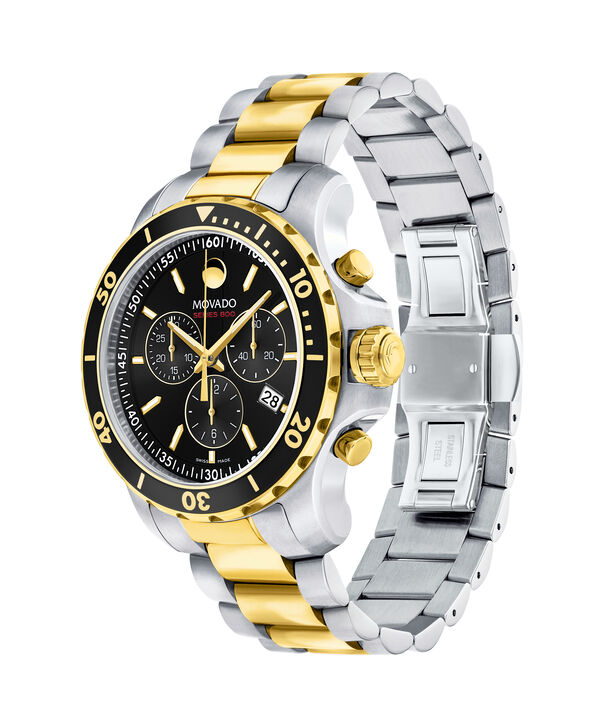MOVADO Series 8002600146 – Men's 40 mm bracelet watch - Side view