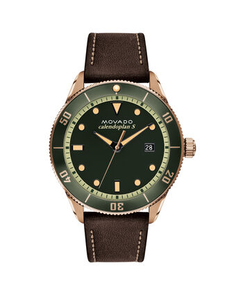 MOVADO Heritage Series3650092 – 43mm Heritage Series Calendoplan S Diver - Front view