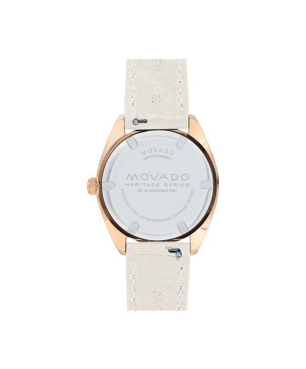 MOVADO Movado Heritage Series3650064 – Women's 31 mm bracelet watch - Back view