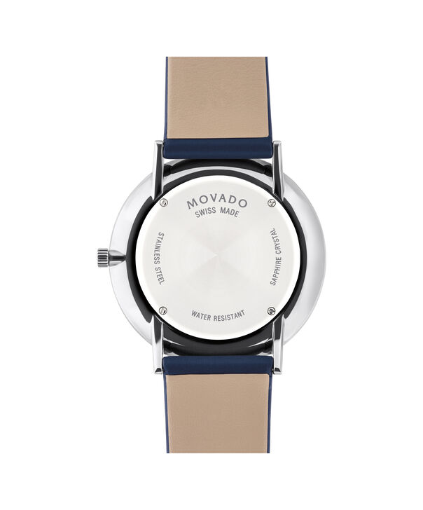 MOVADO Modern 470607257 – Movado.com EXCLUSIVE 40mm strap watch - Back view