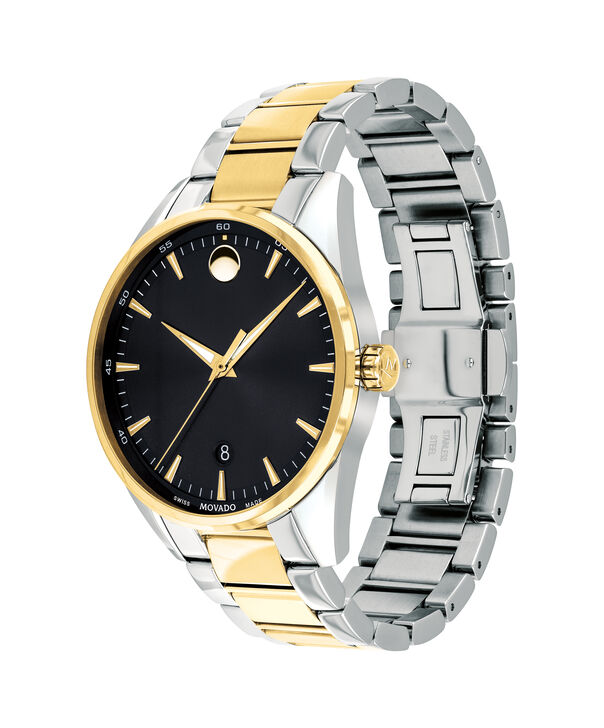 MOVADO Stratus0607245 – Men's 40 mm bracelet watch - Side view