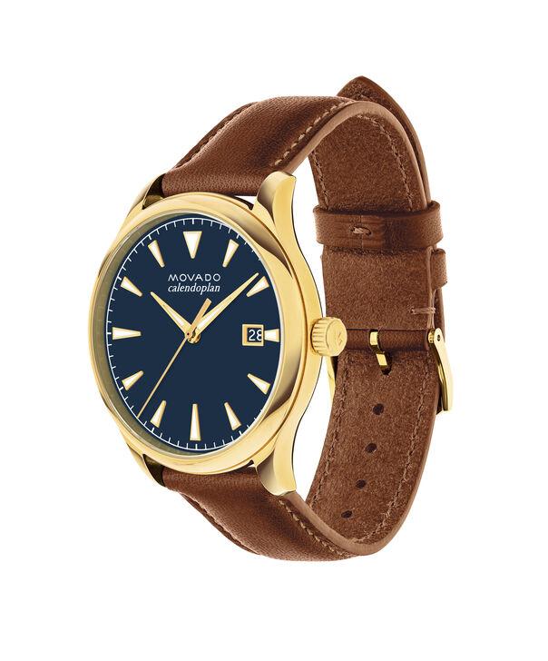 MOVADO Movado Heritage Series3650028 – Men's 40 mm strap watch - Side view