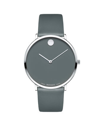 MOVADO 70th Anniversary0607147 – Men's 40 mm strap watch - Front view