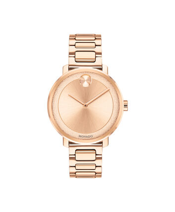 MOVADO Movado BOLD3600503 – 34 mm Metals bracelet watch - Front view