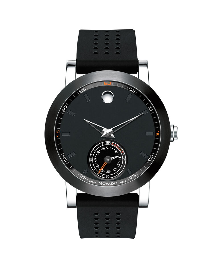 MOVADO Museum Sport Motion0660003 – Men's 44 mm smart tech watch - Front view