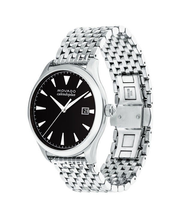 MOVADO Movado Heritage Series3650012 – Men's 40 mm bracelet watch - Side view