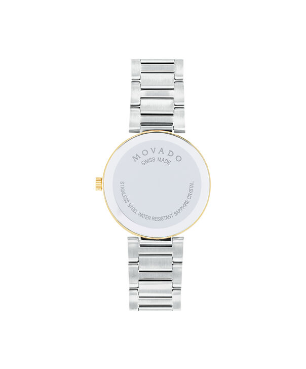 MOVADO Modern Classic0607103 – Women's 28 mm bracelet watch - Back view