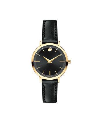 MOVADO Movado Ultra Slim0607095 – Women's 28 mm strap watch - Front view