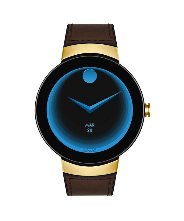 MOVADO Movado Connect3660021 – 46.5 mm display smartwatch - Side view