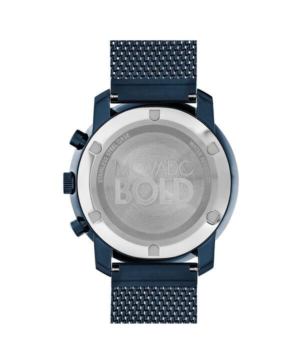 MOVADO Movado BOLD3600403 – 44 mm flat mesh bracelet chrono - Back view
