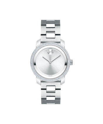 MOVADO Movado BOLD3600439 – 30 mm Diamonds bracelet watch - Front view