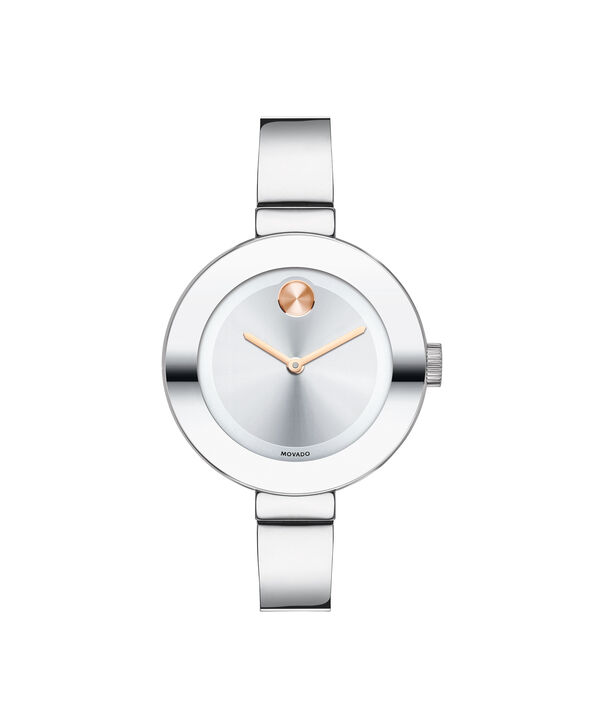 b1b39855c Movado | Movado Bold Small Stainless Steel Bangle Watch | Movado US
