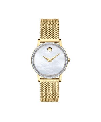 MOVADO Museum Classic0607307 – Women's 28 mm mesh bracelet watch - Front view