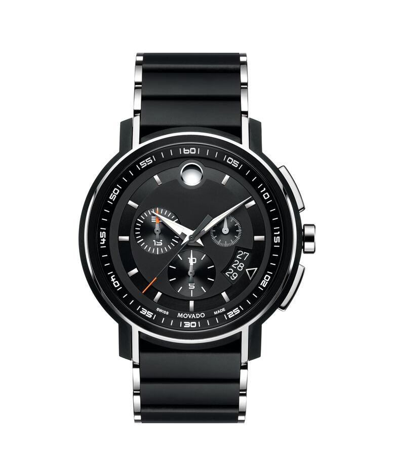 MOVADO Strato0607006 – Men's 44 mm bracelet chronograph - Front view