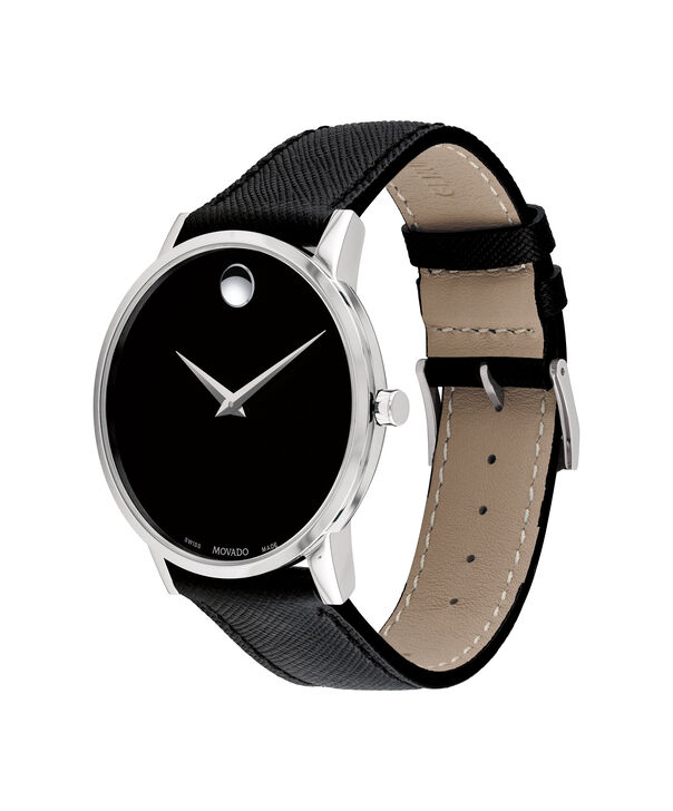 MOVADO Museum Classic0607194 – Men's 40 mm strap watch - Side view
