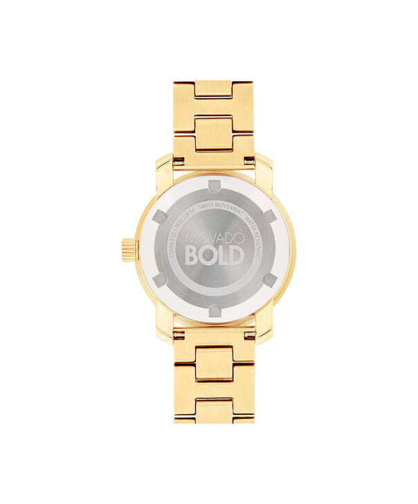 MOVADO Movado BOLD3600434 – 30 mm Metals bracelet watch - Back view