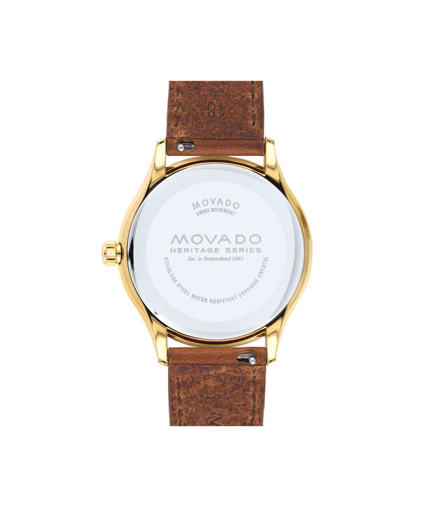 MOVADO Movado Heritage Series3650033 – Women's 36 mm strap watch - Back view