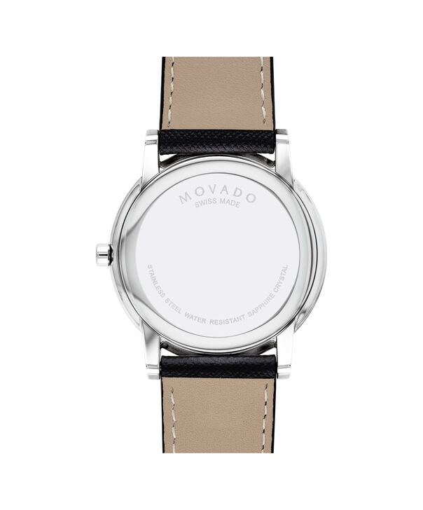 MOVADO Museum Classic0607194 – Men's 40 mm strap watch - Back view