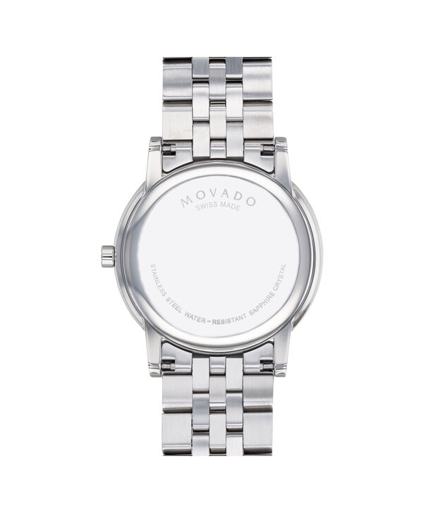 MOVADO Museum Classic0607201 – Men's 40 mm bracelet watch - Back view