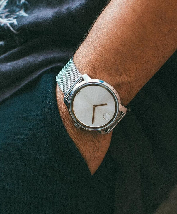 MOVADO Movado BOLD3600260 – 44 mm flat mesh bracelet watch - Other view
