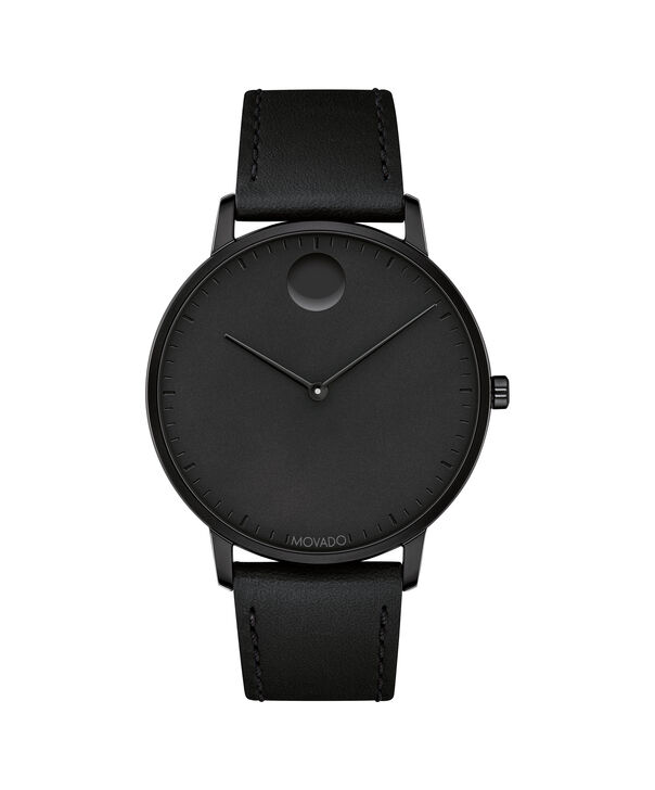 MOVADO Movado Face3640002 – Men's 41 mm strap watch - Front view