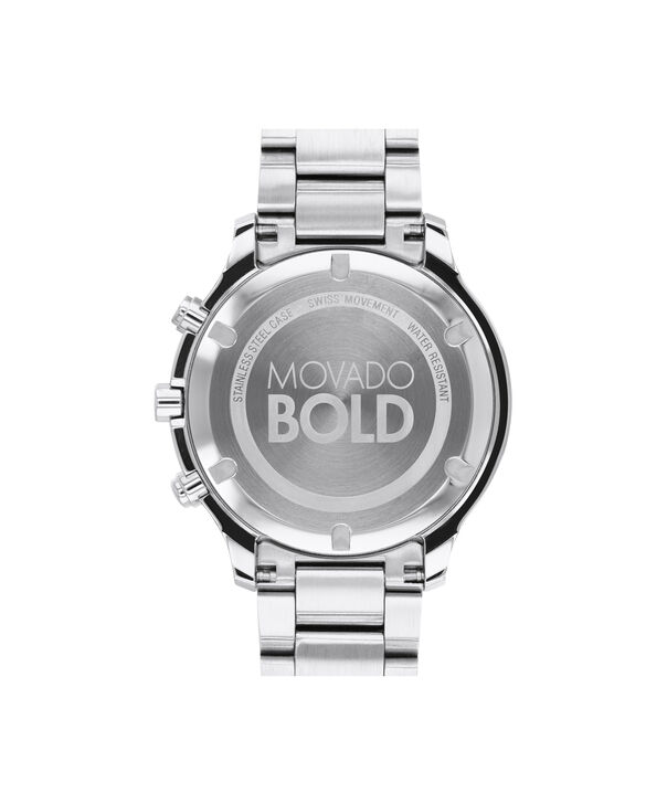 MOVADO Movado BOLD3600545 – 39 mm Metals bracelet watch - Back view