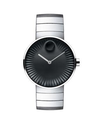 MOVADO Movado Edge3680006 – Men's 40 mm bracelet watch. - Front view