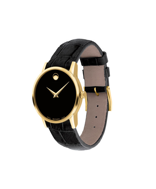 MOVADO Museum Classic0607222 – Women's 28 mm strap watch - Side view