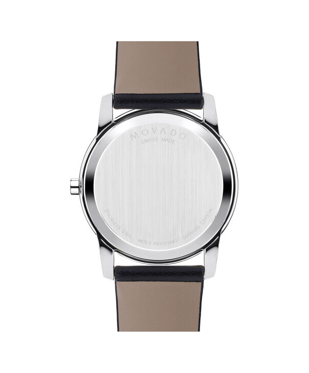 MOVADO Museum Classic0606610 – Men's 40 mm strap watch - Back view
