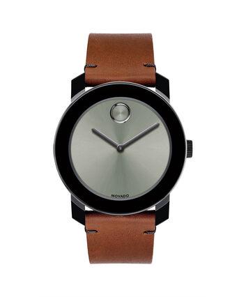 MOVADO Movado BOLD3600442 – 42mm Colorado leather strap watch - Front view