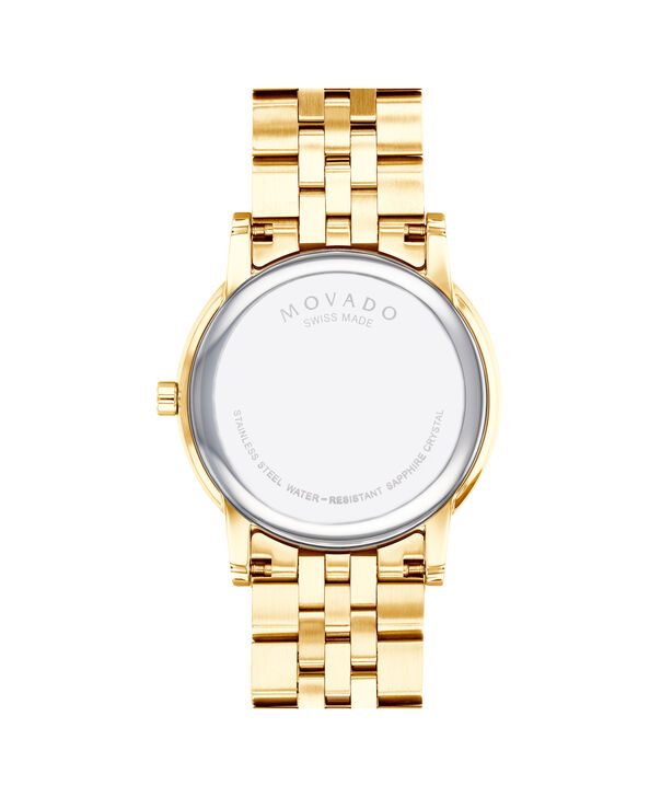 MOVADO Museum Classic0607203 – Men's 40 mm bracelet watch - Back view