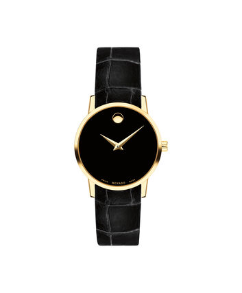 MOVADO Museum Classic0607222 – Women's 28 mm strap watch - Front view