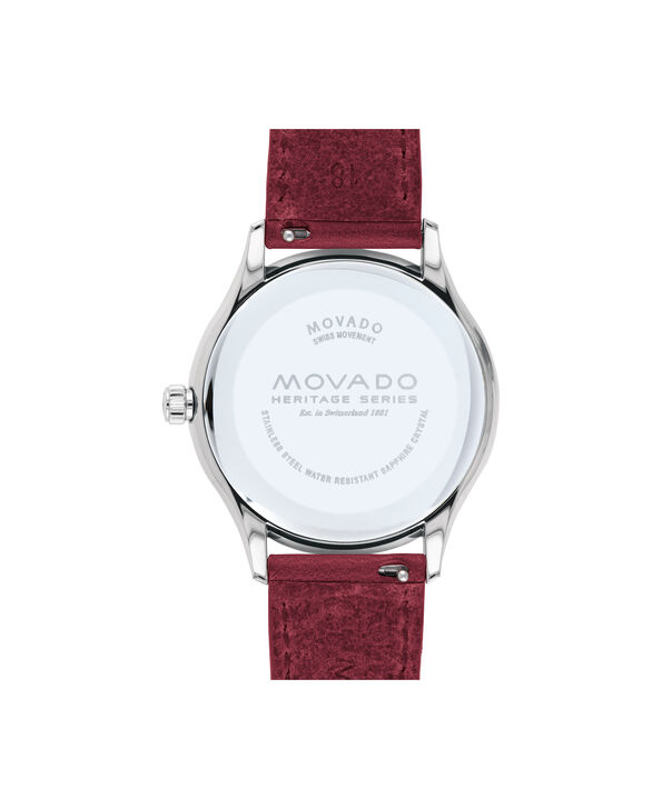 MOVADO Movado Heritage Series3650032 – Women's 36 mm strap watch - Back view