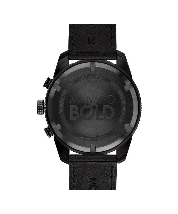 MOVADO Movado BOLD3600517 – 44.5 mm BOLD Sport strap watch - Back view