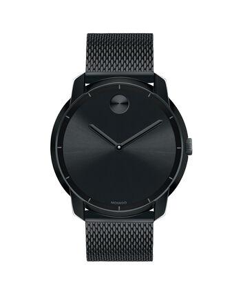 MOVADO Movado BOLD3600261 – 44 mm flat mesh bracelet watch - Front view