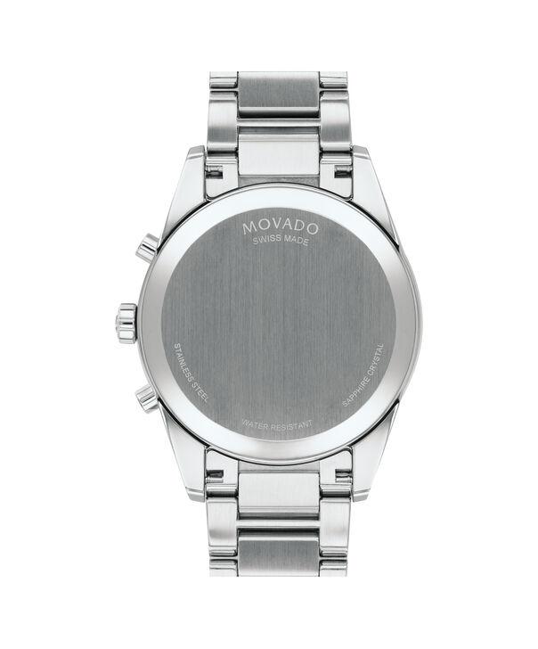 MOVADO Stratus0607248 – Men's 42 mm bracelet chronograph - Back view