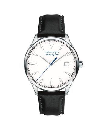 MOVADO Movado Heritage Series3650002 – Men's 40 mm strap watch - Front view