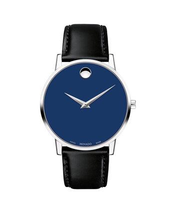 1d2d246918b1c MOVADO Museum Classic0607270 – Men s 40 mm strap watch - Front view