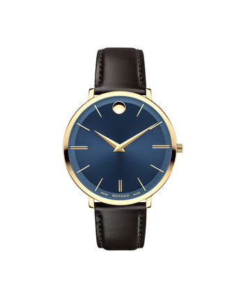 MOVADO Movado Ultra Slim0607092 – Mid-Size 35 mm strap watch - Front view