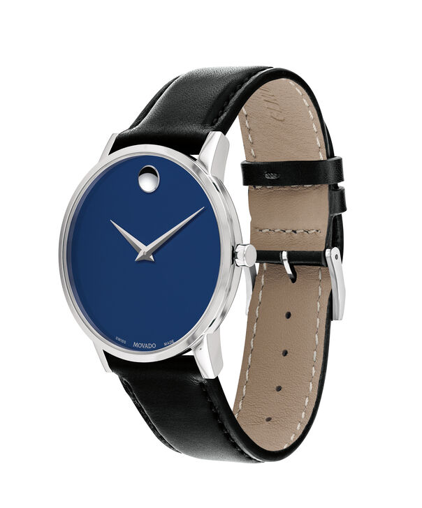 MOVADO Museum Classic0607270 – Men's 40 mm strap watch - Side view