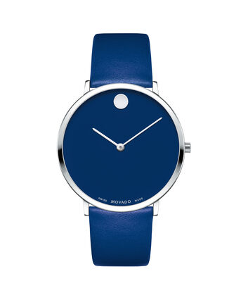 MOVADO Modern 470607251 – Movado.com EXCLUSIVE 40mm strap watch - Front view