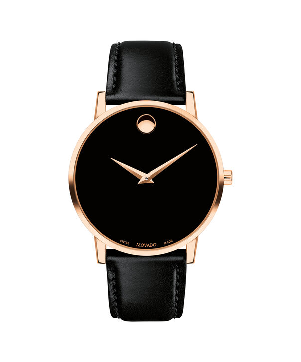 MOVADO Museum Classic0607272 – Men's 40 mm strap watch - Front view