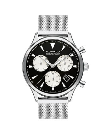 MOVADO Movado Heritage Series3650097 – 43mm Heritage Calendoplan Chrono - Front view