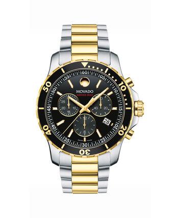 MOVADO Series 8002600146 – Men's 40 mm bracelet watch - Front view