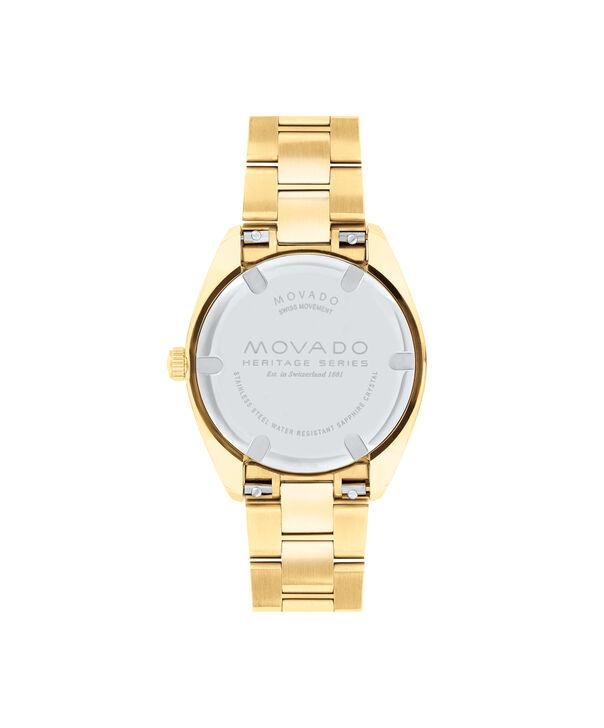MOVADO Movado Heritage Series3650038 – Women's 31 mm bracelet watch - Back view