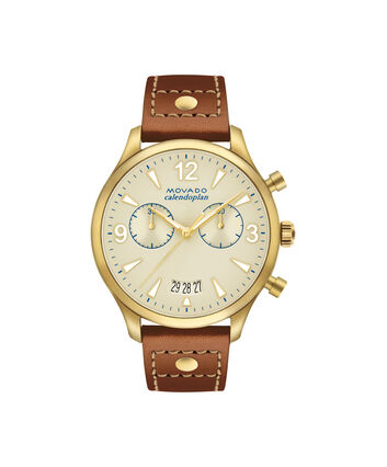 MOVADO Movado Heritage Series3650025 – Women's 38 mm strap chronograph - Front view