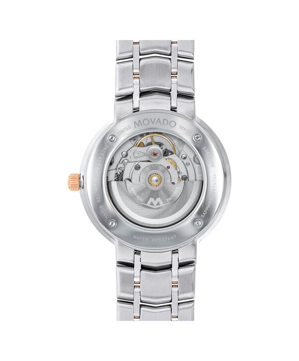 MOVADO 1881 Automatic0607063 – Men's 39.5 mm automatic 3-hand - Back view