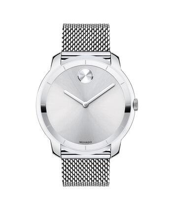 MOVADO Movado BOLD3600260 – 44 mm flat mesh bracelet watch - Front view